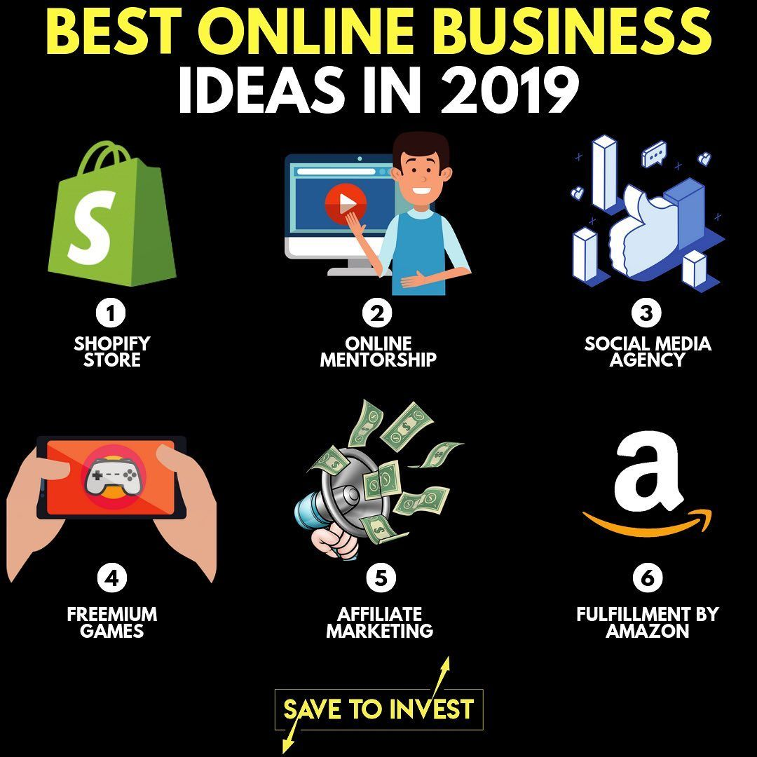These Are By Far The Best Scalable Online Businesses That You Can Start In 20 Profitable Online Business Best Online Business Ideas Business Ideas Entrepreneur