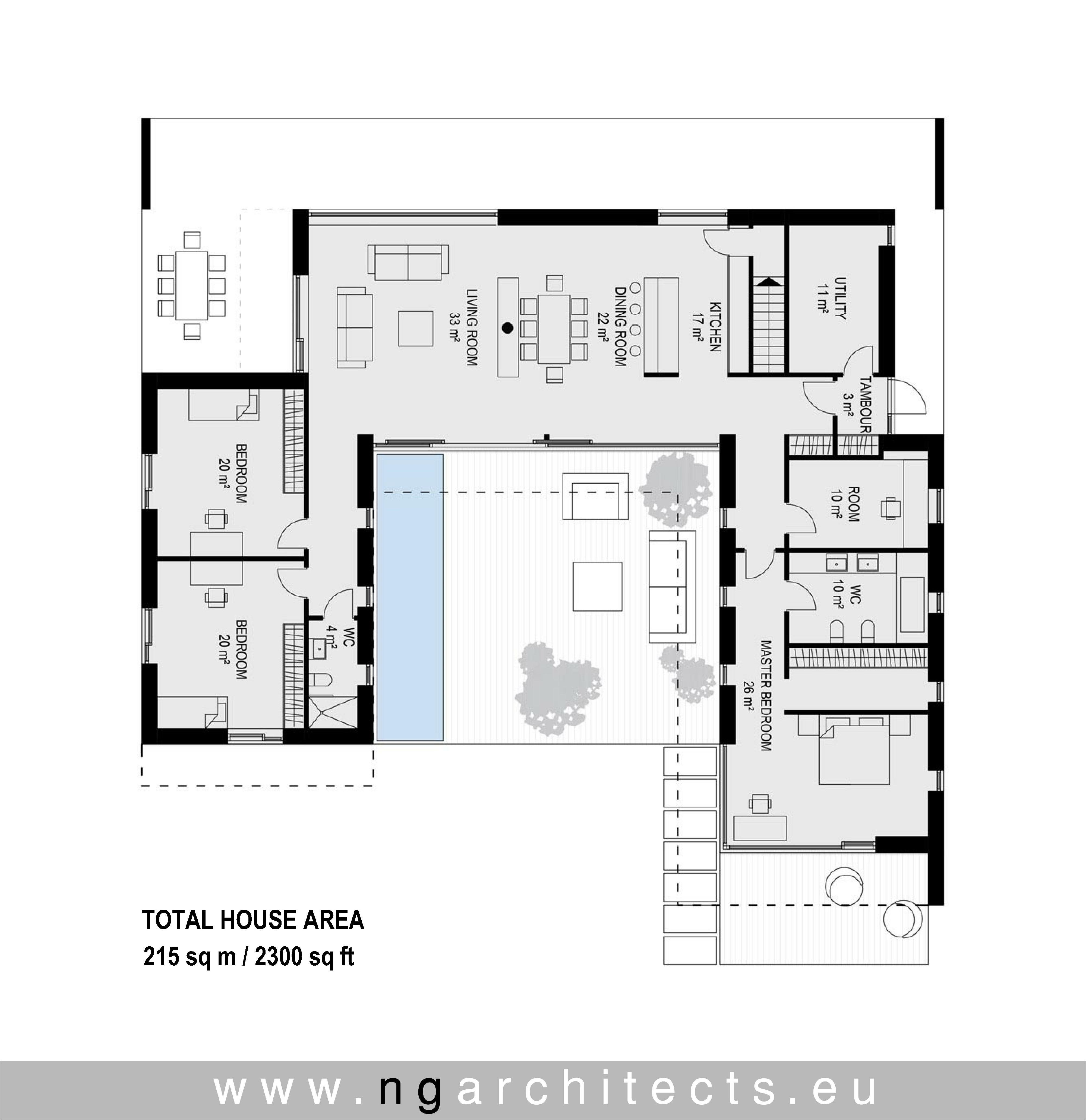 Epingle Sur Modern House Plans