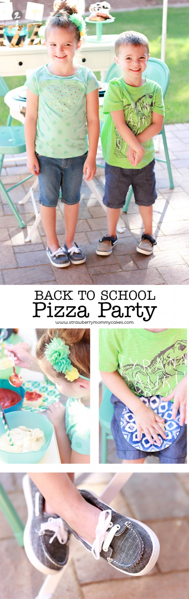 Let your kids be creative with this Back to School Pizza Party! #ohsofamous #sponsored @famousfootwear http://clvr.li/osfbts