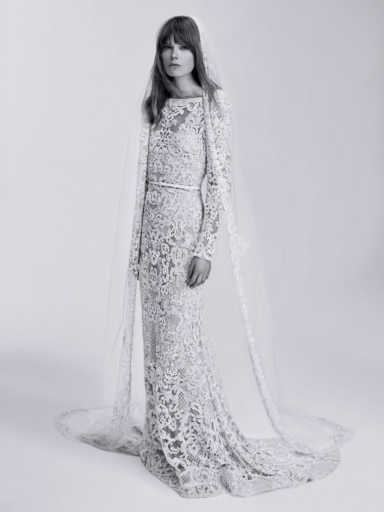 Crfashionbook uc wedding dress inspiration courtesy of elie saab