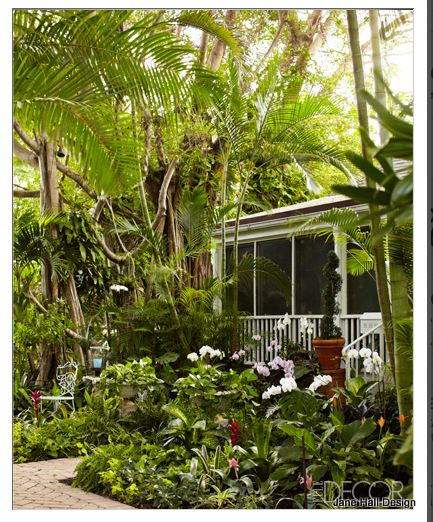 The Lush Life: Larry Laslo's Palm Beach Bungalow