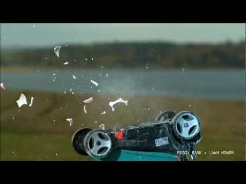 Destroying Things In Slow Motion Miscellaneous Pinterest Tvs