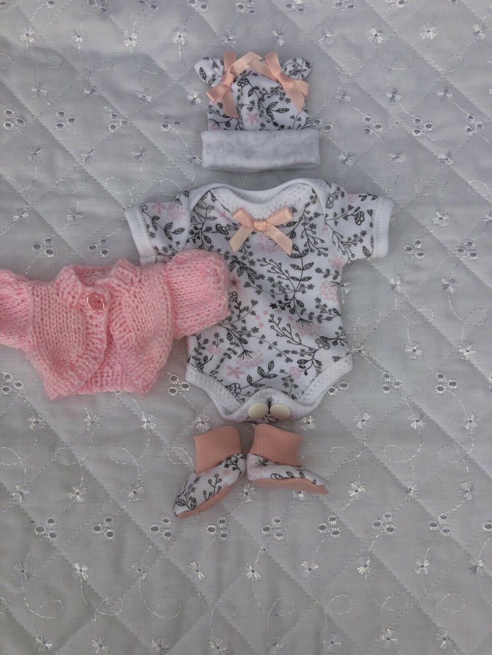 Handmade Clothes For 8 Reborn Sculpt Ooak Baby Doll Doll Not Included Ebay Baby Doll Clothes Handmade Clothes Baby Dolls