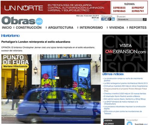 Obras | Mexico | 1-2013