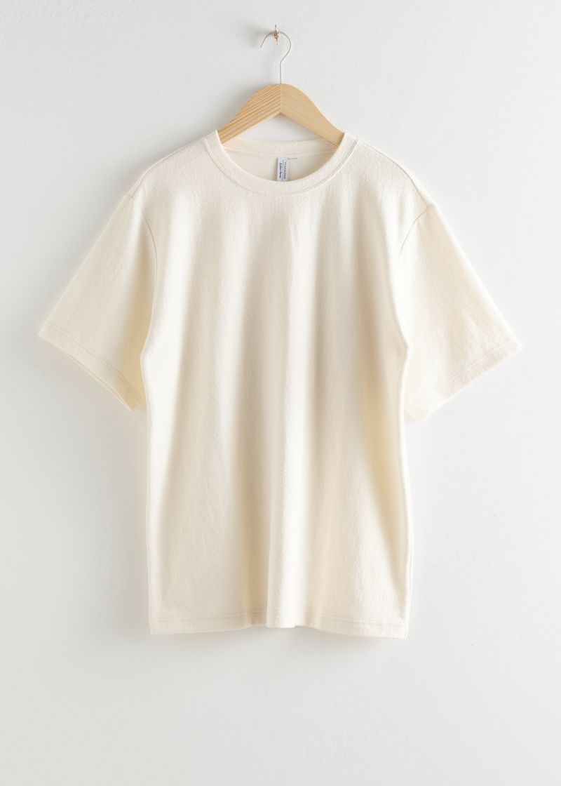 Oversized Washed Cotton T Shirt   Cotton tshirt, Clothes