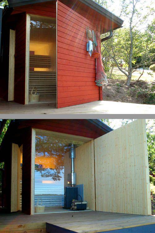 Aussensauna Modern gorgeous außen gartensauna saunas und