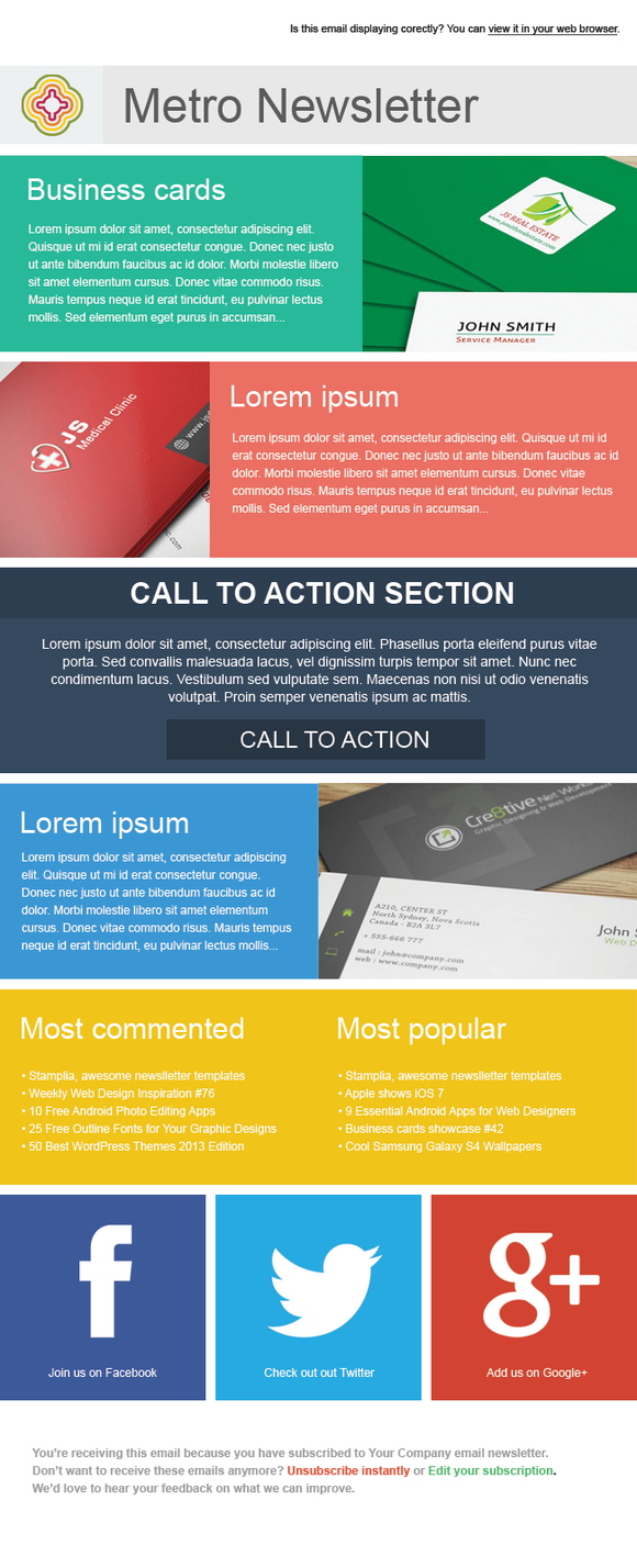 17 Best images about Newsletters on Pinterest | Flats, Email ...