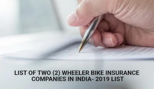 Top 10 Best Two 2 Wheeler Bike Insurance Companies in