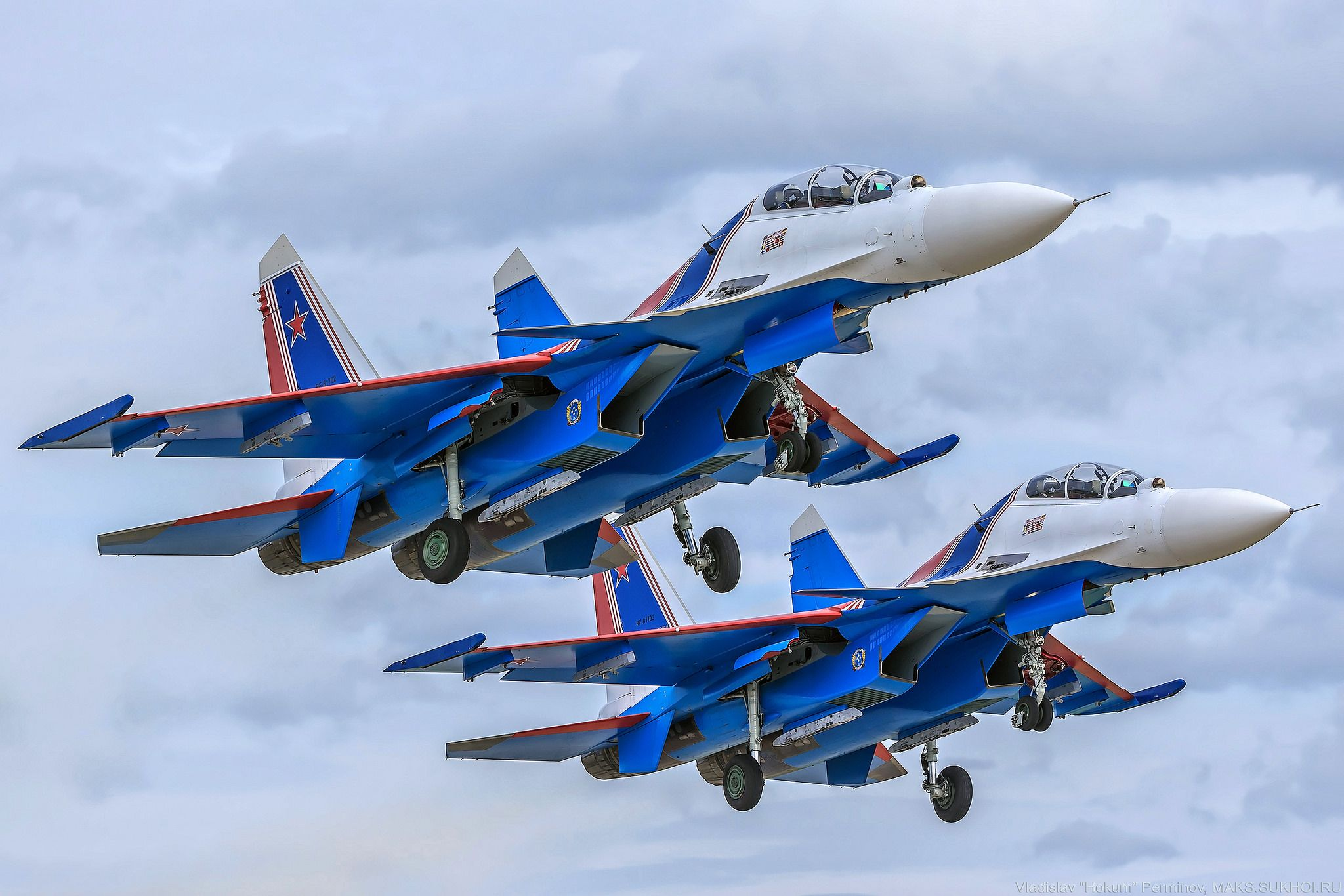The first Su-30SM for Russian Knights 31