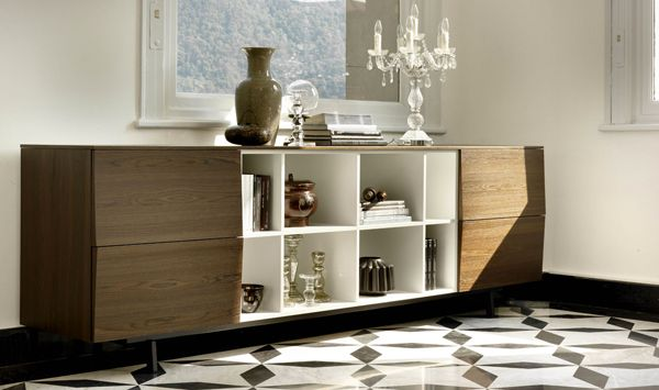 Elegant Amsterdam Sideboard   Made In Italy   Contemporary   Buffets And Sideboards    Other Metro   By IQmatics