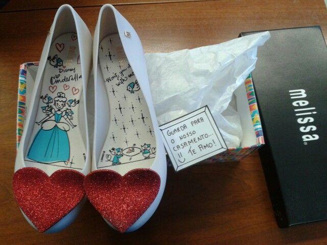 """Ultragirl Disney, também conhecido como """"o sapato que vou usar no meu casamento"""" <3"""