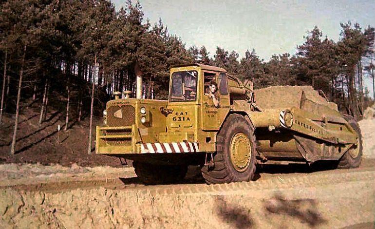 Classic machines: The Caterpillar 631A scraper   Caterpillar