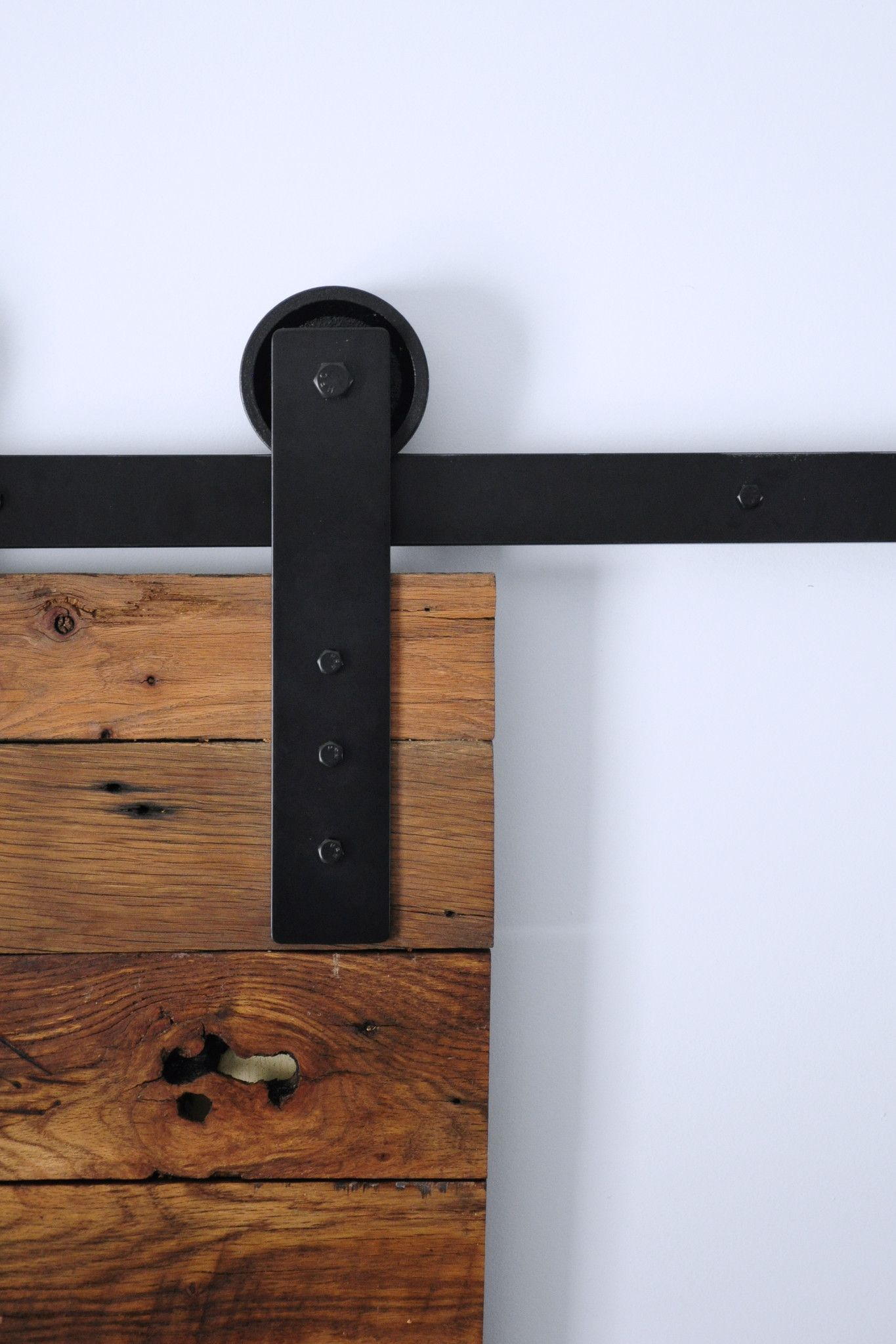 Modern Barn Door Hardware Kit Portas De Correr Casas Portas Rusticas