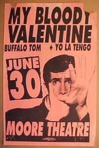 My Bloody Valentine / Buffalo Tom / Yo La Tengo