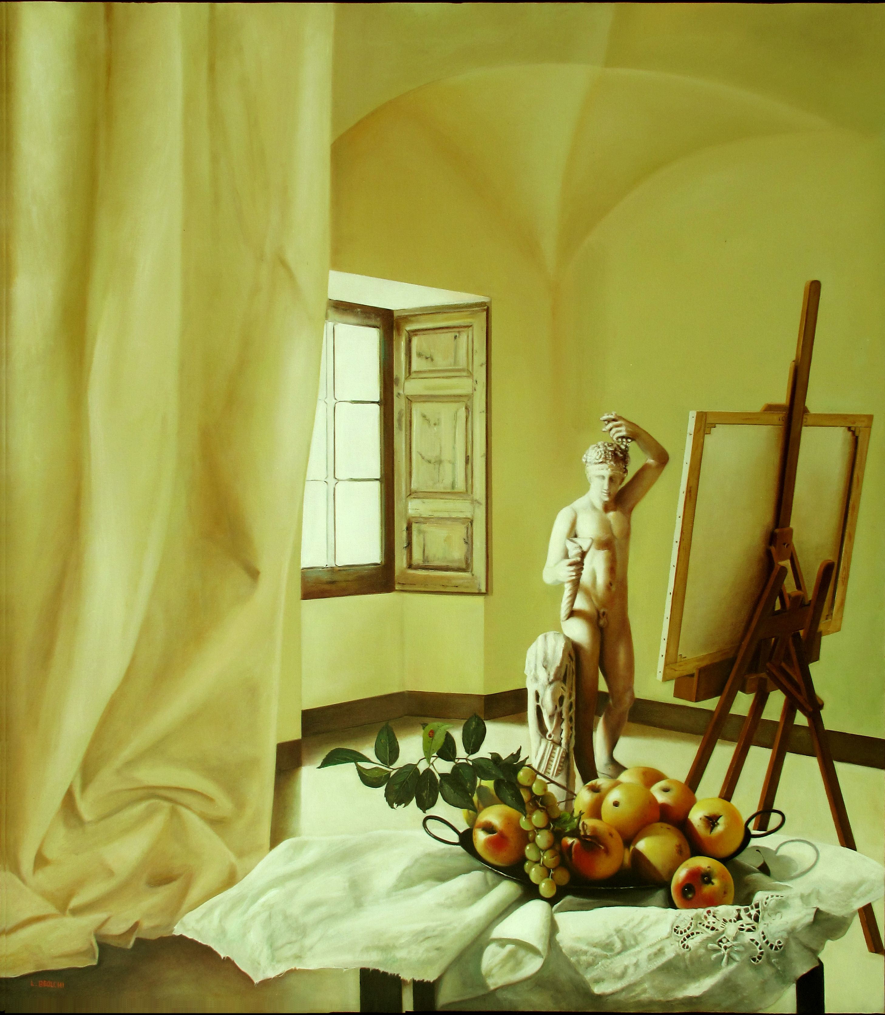 La stanza di Bacco - 80x70 cm