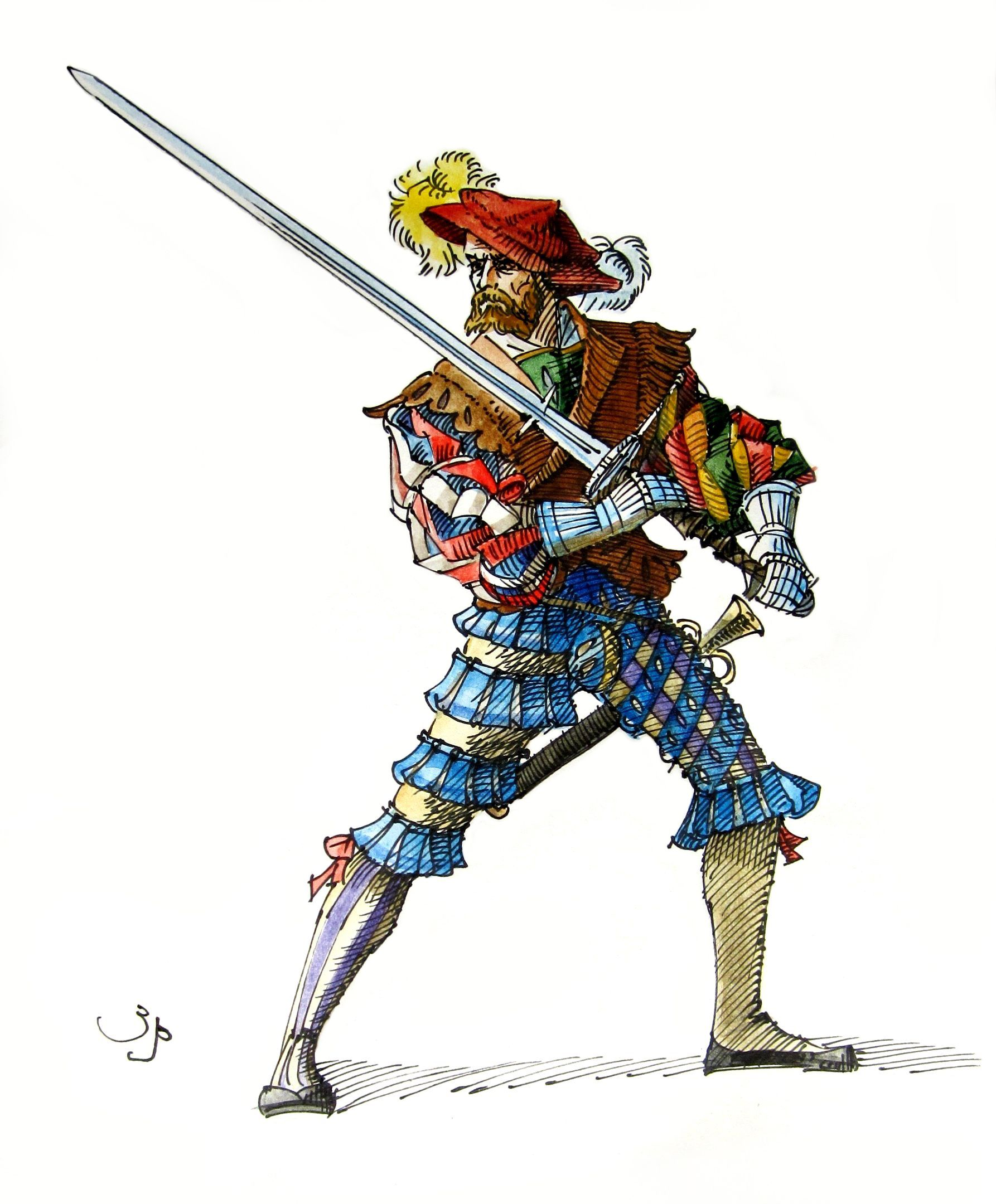 Image result for landsknecht