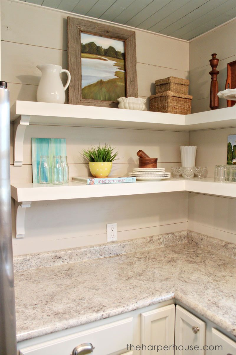 Kitchen Shelves Home Depot
