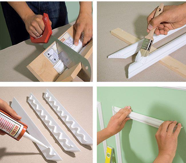 tagliare cornice poliuretano - Cerca con Google
