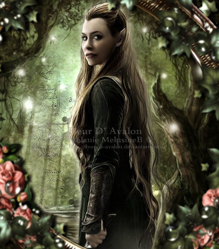lilly legolas tauriel - photo #17