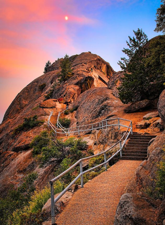 Moro Rock Path Inge Johnsson Photography Kings Canyon National Park National Parks Places To Travel