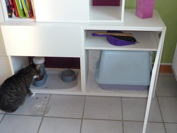Schrank Für Katzenklo tipp melrose96 katzenklo verstecken zimmerschau verstecktes