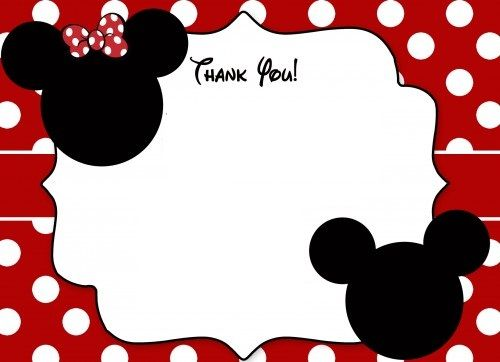 Mickey Mouse Cards Free Printable Mickey Mouse Birthday Cards