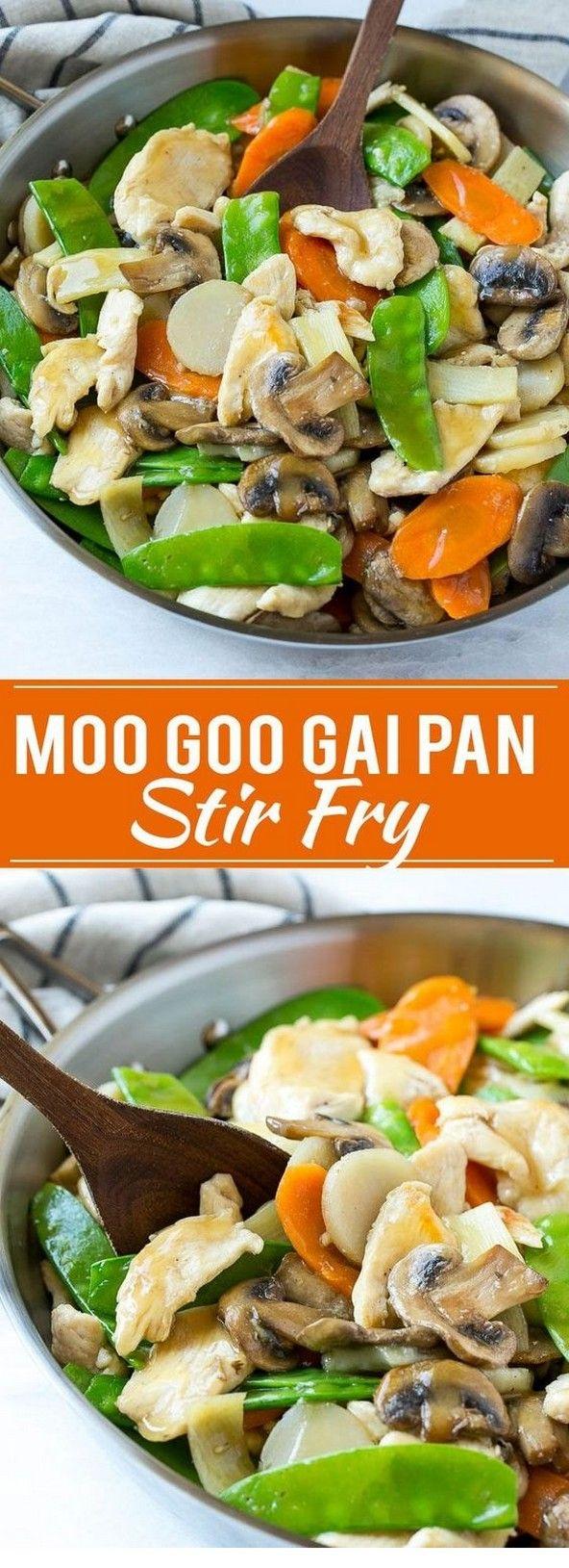 Moo Goo Gai Pan | Chinese Recipes Easy #chinesefood