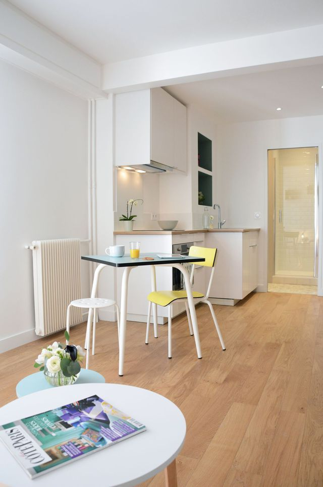 Appartement Paris 10e  33 m2 totalement optimisés Square meter