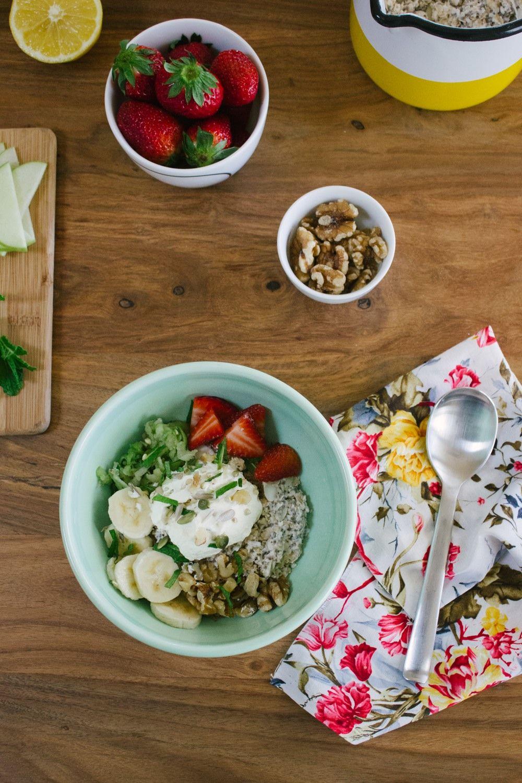 How to Make Bircher Muesli (Overnight Oats) | Healthy ...