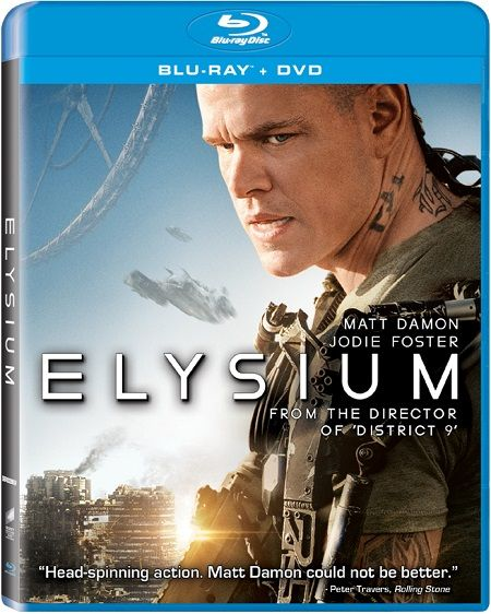 Elysium 2013 Hindi Dubbed Dual Audio BRRip 300MB - 720p Mkv