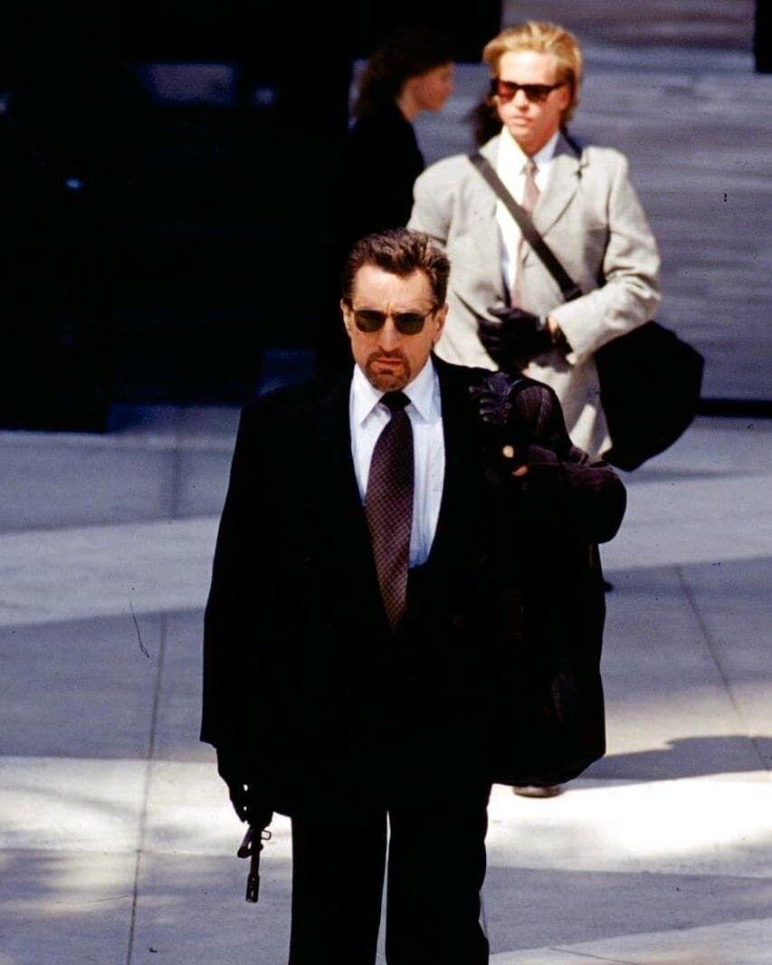 Robert De Niro Val Kilmer Heat 1995 Heat Movie Robert De Niro Heat 1995
