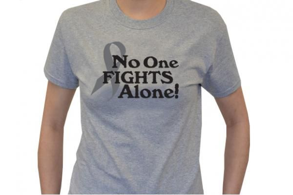 No One Fights Alone® Awareness T-Shirt | Choose Hope