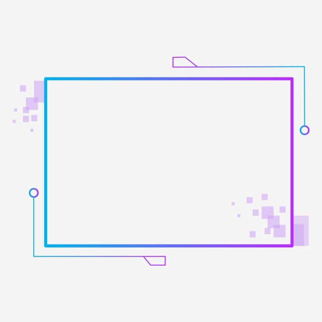 Blue Gradient Technology Border Decoration Border Clipart Blue Border Border Png And Vector With Transparent Background For Free Download First Youtube Video Ideas Graphic Design Background Templates Colorful Borders Design