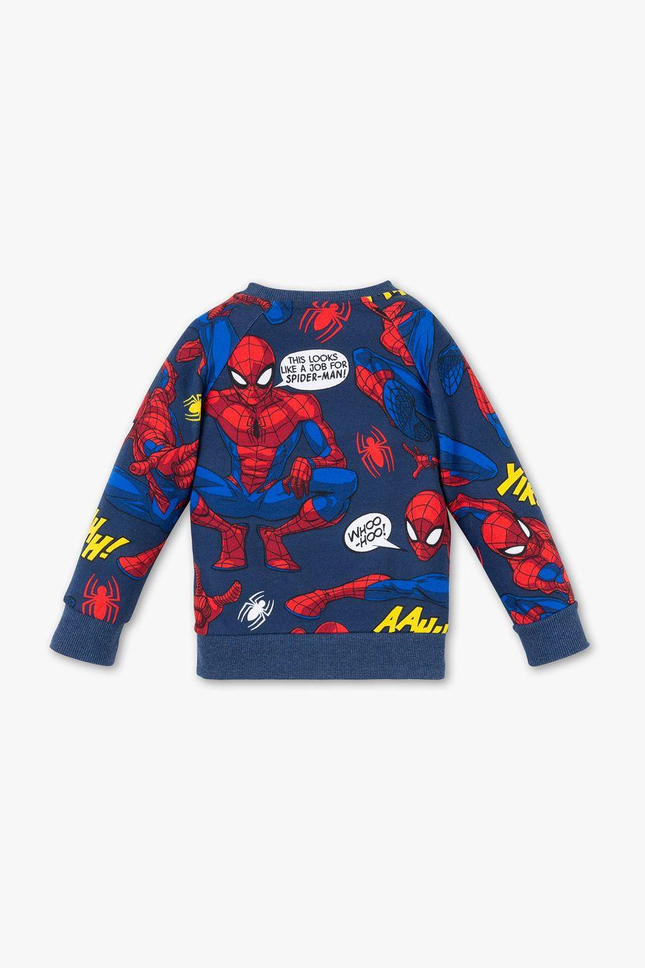 Spider Man Sweatshirt In 2021 Sweatshirts Spiderman Men Sweatshirt [ 1380 x 920 Pixel ]