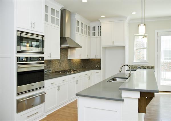 grey quartz kitchen countertops gray quartz countertops much kitchen pinterest. Black Bedroom Furniture Sets. Home Design Ideas