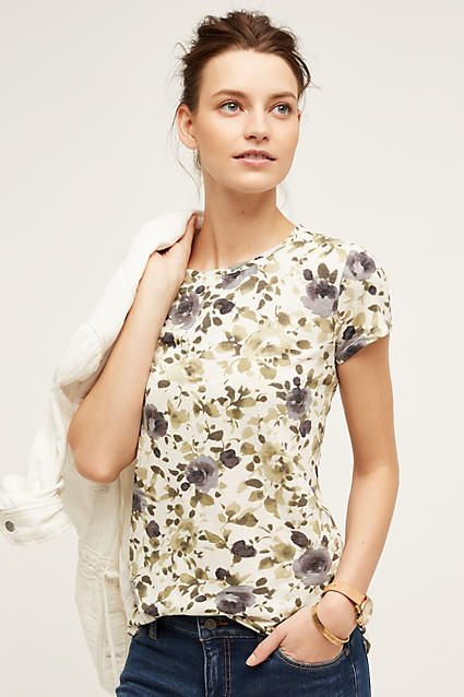Flower Days Tee - anthropologie.com
