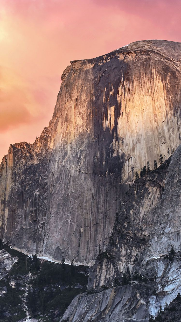 Yosemite iPhone Wallpaper ElCapitan Yosemite