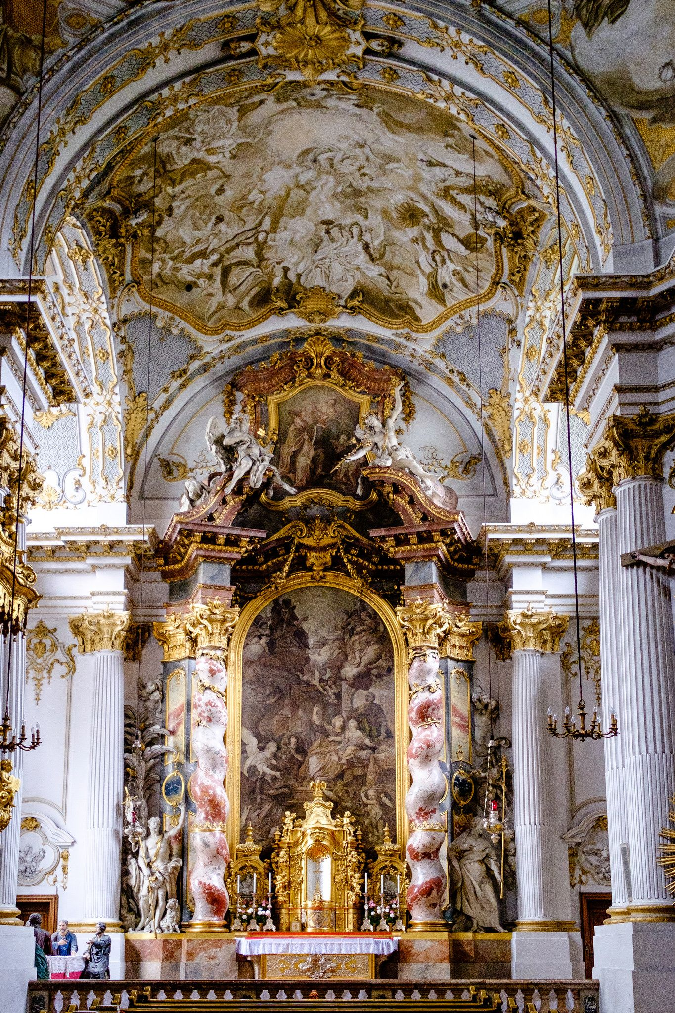 Munich Germany Baroque Architecture Church Architecture Architecture