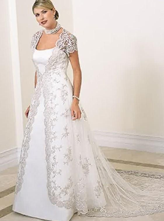 Pink wedding dresses plus size sleeves Photo - 7 | Cathy | Pinterest ...