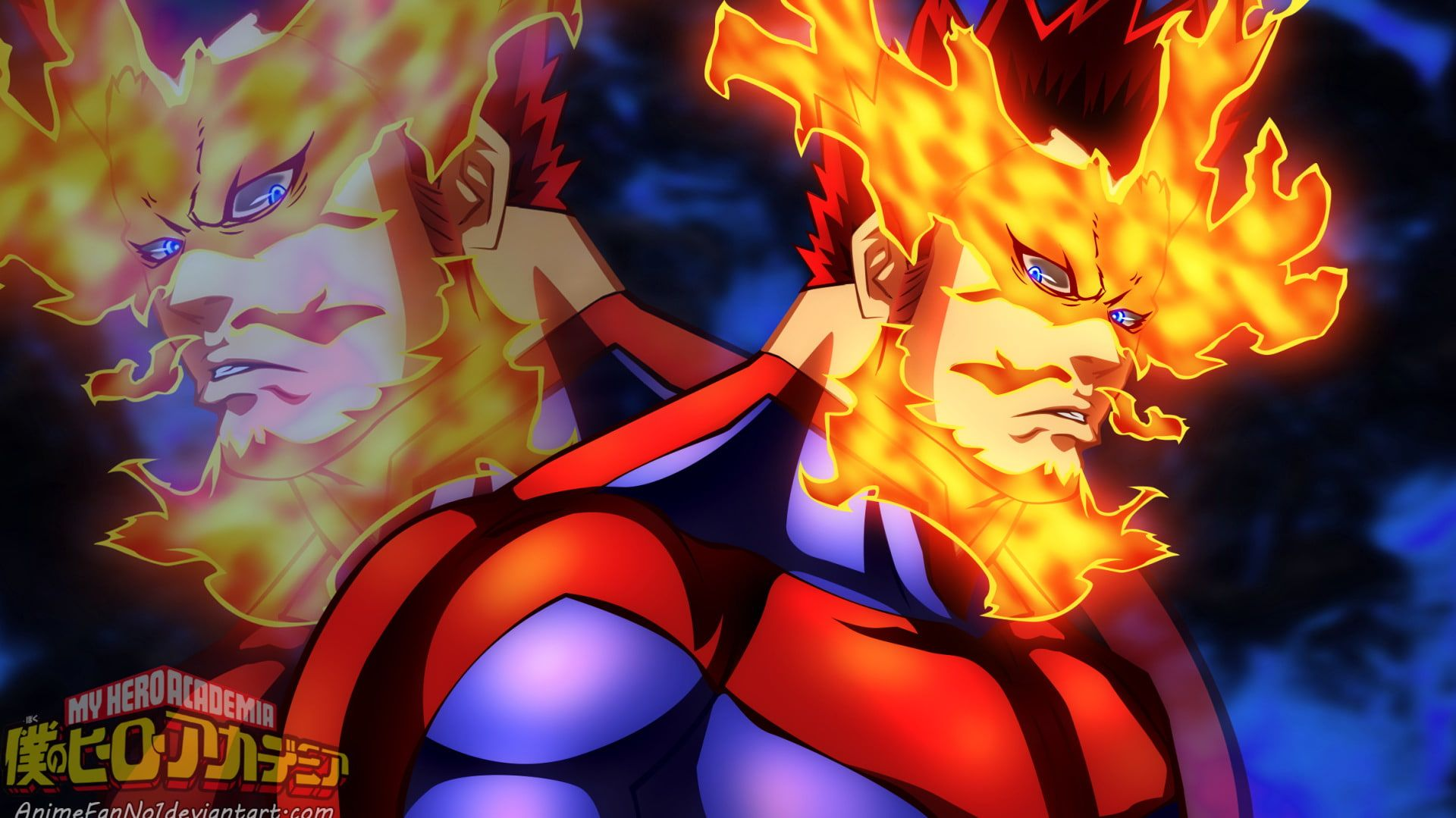 Anime My Hero Academia Endeavor Boku No Hero Academia 1080p Wallpaper Hdwallpaper Desktop My Hero Academia My Hero Hero