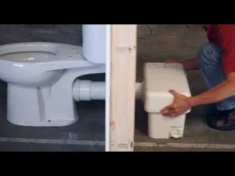 Liberty Pumps Ascent II GPF Macerating Toilet System - Macerator pump for basement bathroom for bathroom decor ideas
