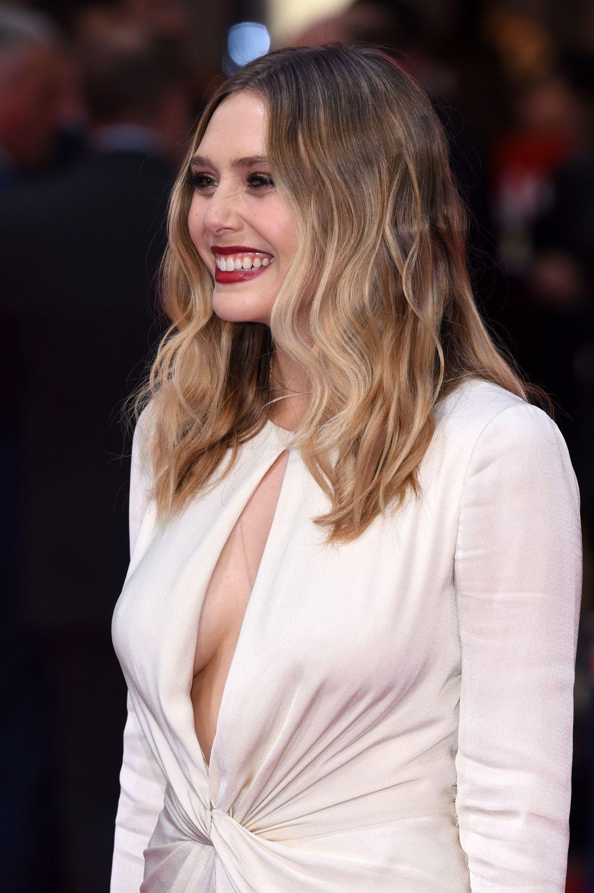 Elizabeth olsen at 39 captain america civil war 39 premiere - Scarlet witch boobs ...