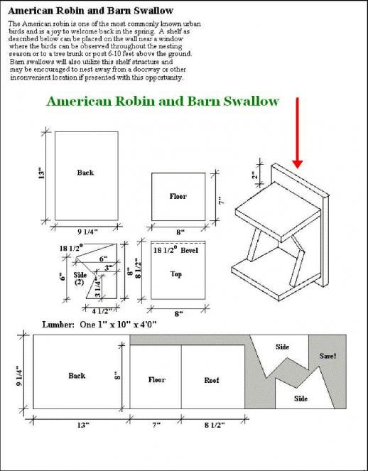 Travel Trailer Birdhouse Plans