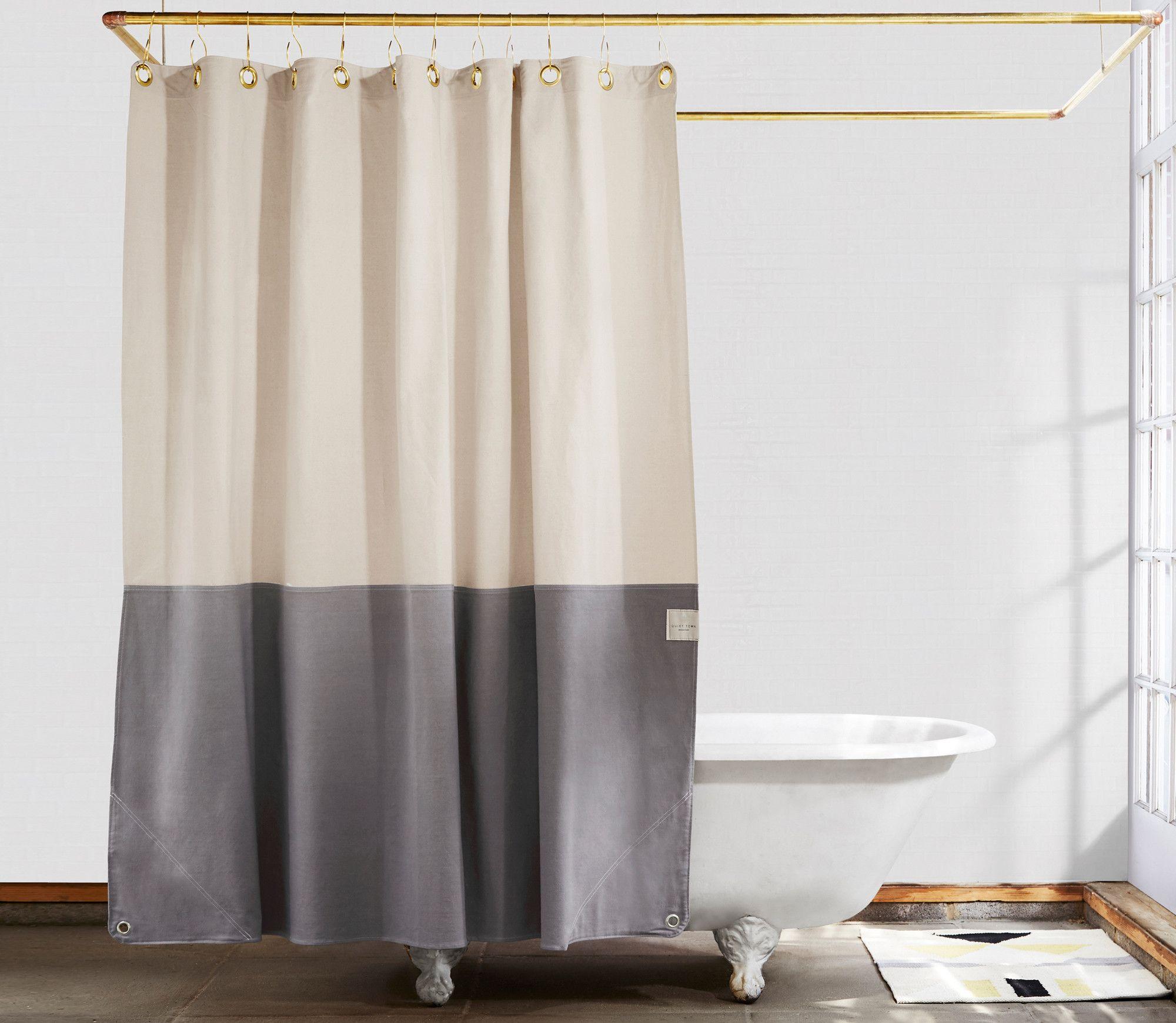 Shower Curtains Quiet Town