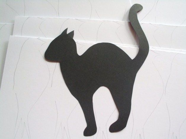 Hi,  This listing is for 15 die cuts black cats perfect for Halloween.  Just add them on your sweets table or stairs or anywhere else for a Halloween effect.  These black cats are hand-cut from 180...
