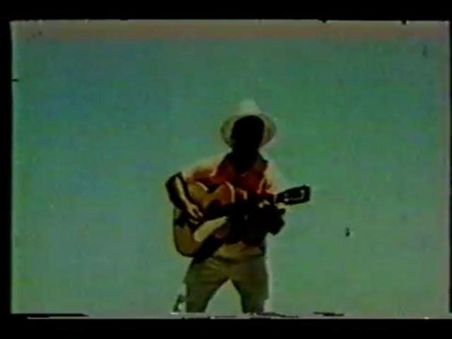 the only film footage of Lead Belly (1945)