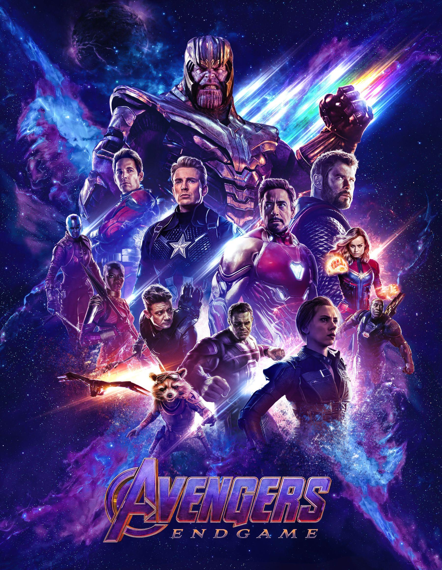 Avengers endgame poster by ralfmef on deviantart marvel