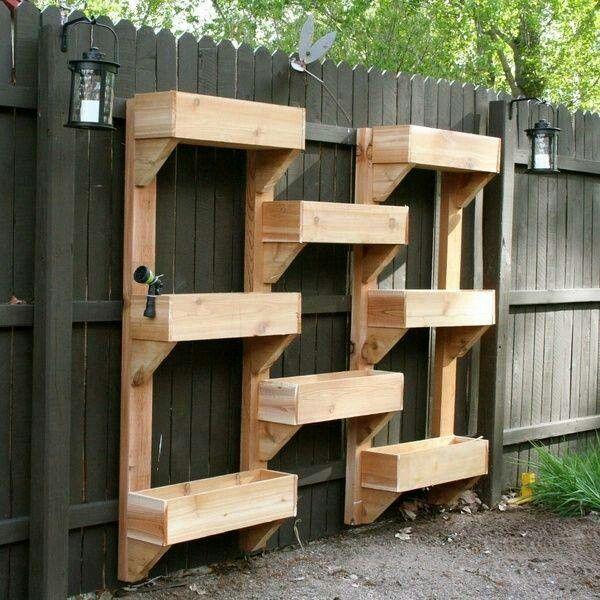cool vertical garden idea
