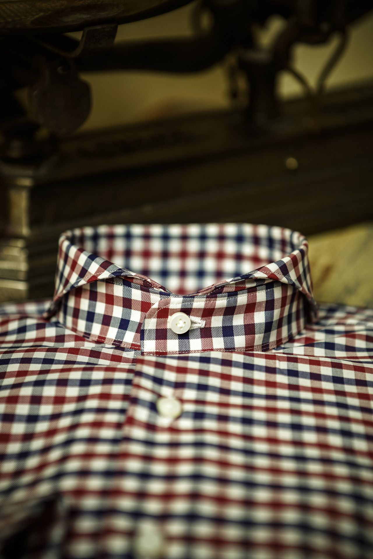 Front Salerno Luxury Shirt Limited Edition High Quality Fabrics