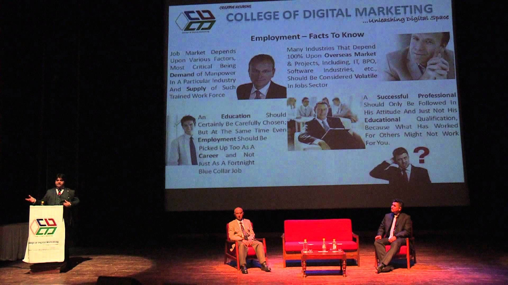 Marketing is no longer about making cold calls, spreading flyers and shaking hands while exchanging business cards. Mr. Chander Kapoor Chairman College of Digital Marketing ...